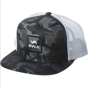 RVCA Camouflage Trucker Hat New With Tags